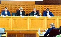 ВПриамурье состоялось выездное заседание Палаты молодых законодателей при Совете Федерации РФ