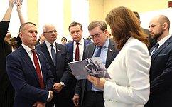 Сенаторы приняли участие вработе Совета поразвитию цифровой экономики вСамаре