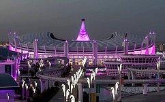 В.Матвиенко посетила церемонию открытия V Азиатских игр взакрытых помещениях ипобоевым искусствам вАшхабаде