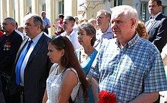 В.Марков принял участие вмероприятиях, посвященных 95-й годовщине образования органов внутренних дел Республики Коми