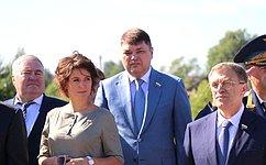 М. Павлова: Память овоинах-южноуральцах будет увековечена вкамне наНевском пятачке