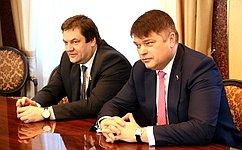 И. Фомин иД.Василенко провели прием граждан вТихвинском районе Ленинградской области