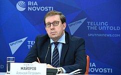 А.Майоров: Новые экологические вызовы требуют отзаконодателей совершенствования природоохранной политики