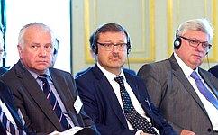 Российские сенаторы приняли участие вработе Российско-Германского форума «Потсдамские встречи»