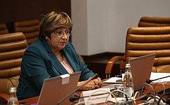 О. Хохлова выступила вдебатах, посвященных защите прав ибезопасности женщин впостконфликтных зонах