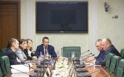 Совет Федерации посетила делегация молодых кубанских законодателей