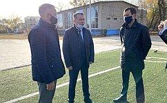 О. Алексеев: Необходимо сохранить всю спортивную инфраструктуру Энгельсского района