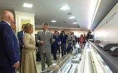 В. Матвиенко: Железные дороги стали основой для развития экономики государства