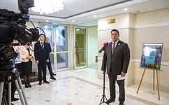 В. Полетаев открыл выставку «Образ твой, Россия»