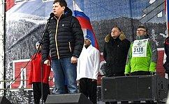 А.Епишин: «Лыжня России»— яркий пример возрождения лучших традиций физкультурно-спортивного движения