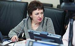 Необходим общий подход вобеспечении социального благополучия граждан старшего поколения– Е.Бибикова