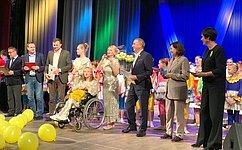 С. Березкин: Инклюзивные благотворительные проекты помогают детям раскрыть свои таланты
