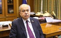 И. Умаханов: Для Совета Федерации важно дальнейшее повышение эффективности государственной региональной политики