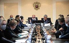 Комитет СФ поконституционному законодательству игосударственному строительству поддержал законы, совершенствующие законодательство овыборах