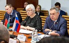 А. Ракитин иО.Тимофеева обсудили скенийскими коллегами вопросы межпарламентского сотрудничества