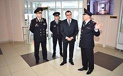 Н. Федоров обсудил сглавой МВД поЧувашии меры профилактики правонарушений иобеспечение безопасности граждан