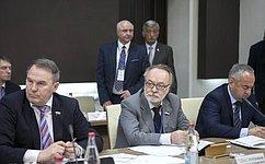 Члены Комитета Совета Федерации помеждународным делам посещают Северную Осетию