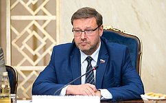 Konstantin Kosachev: Inter-parliamentary contacts with ASEAN countries are animportant mechanism forstrengthening peace