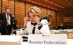 В. Матвиенко: ВВене созданы все условия для результативного межпарламентского диалога
