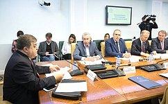 Cенаторы обсудили итоги парламентских слушаний опредотвращении вмешательства вовнутренние дела России