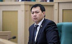 М.Ооржак стал координатором Съезда молодых депутатов Тывы
