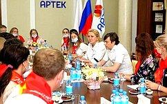 Л. Гумерова: «Артек»– лучшая школа воспитательной работы