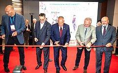 С. Митин выступил нацеремонии торжественного открытия 46-й Международной выставки «Охота ирыболовство наРуси»