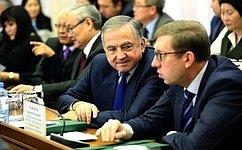 Ю. Бирюков входе поездки вКалмыкию рассмотрел вопросы социально-экономического развития региона