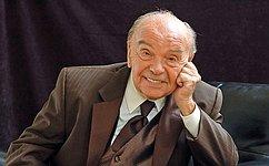 Соболезнования В.Матвиенко всвязи скончиной В.Шаинского
