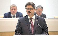 А. Широков рассказал оработе вкачестве полномочного представителя СФ вЦентральной избирательной комиссии РФ