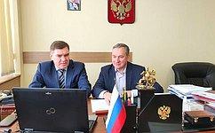 Александр Савин принял участие вработе съезда депутатов представительных органов муниципальных образований Калужской области