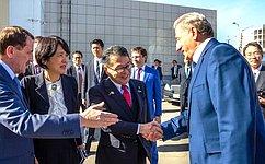 С. Лукин: Воронеж– ключевой партнер вразвитии российско-японских отношений