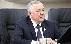 В. Шуба провел встречи собщественностью идепутатами Думы вБратске