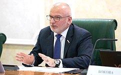 А.Клишас иА.Кутепов внесли вГосударственную Думу законопроект опоправках взакон опорядке формирования Совета Федерации