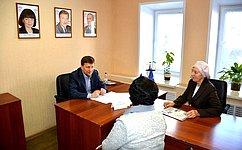 В. Харлов провёл личный приём граждан города Ульяновска иУльяновской области