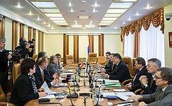 Ю. Воробьев иФ. Ломбарди выступили запродолжение активных контактов между парламентами России иШвейцарии