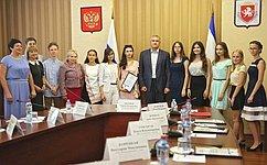 Крым набирает обороты. В2018году более чем вдва раза увеличилось число выпускников, набравших максимальное количество баллов ЕГЭ– О.Ковитиди
