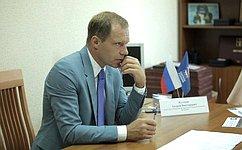 А. Кутепов обсудил сжителями Санкт-Петербурга проведение спортивных мероприятий, защиту прав обманутых дольщиков