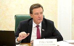 С. Рябухин принял участие всовещании аграрного комитета Законодательного Собрания Ульяновской области