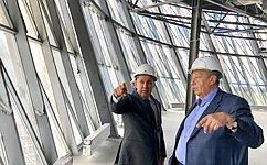 А.Чернецкий: Новый конгресс-центр вЕкатеринбурге станет уникальным объектом награнице Европы иАзии