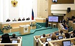В.Матвиенко: Рождественские парламентские встречи способствуют развитию сотрудничества государства иЦеркви
