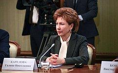 Г.Карелова: Женщины способны внести существенный вклад вреализацию нацпроекта «Здравоохранение»