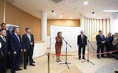 В. Матвиенко открыла новый Детский лечебно-реабилитационный комплекс Центра Алмазова вСанкт-Петербурге