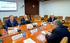 Состоялось заседание Временной комиссии СФ повопросам развития законодательства обинженерной иинжиниринговой деятельности
