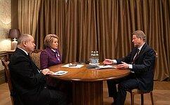 Россия иЕвропейский союз заинтересованы ввозобновлении полноценного ивзаимоуважительного диалога— В.Матвиенко