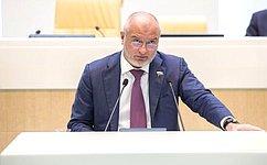А.Клишас назначен полномочным представителем Совета Федерации вКонституционном Суде РФ