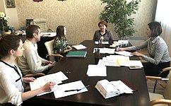 Н.Болтенко обсудила сжителями Новосибирской области вопросы медицинского обслуживания идоступности детских садов