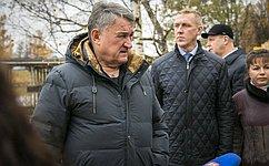 Ю. Воробьев: Строительство набережной реки Вытегра вВологодской области имеет большую социальную значимость