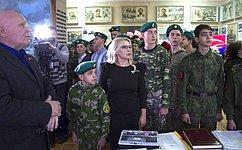 Спервых дней создания Юнармейского движения юные крымчане активно включились вего работу– О.Ковитиди