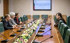 О. Тимофеева провела вСовете Федерации встречу снемецким политиком А.Маурером